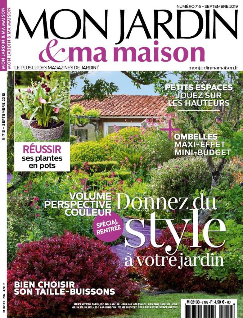 Mon jardin & ma maison   Chevalier, Pascal. Directeur de publication