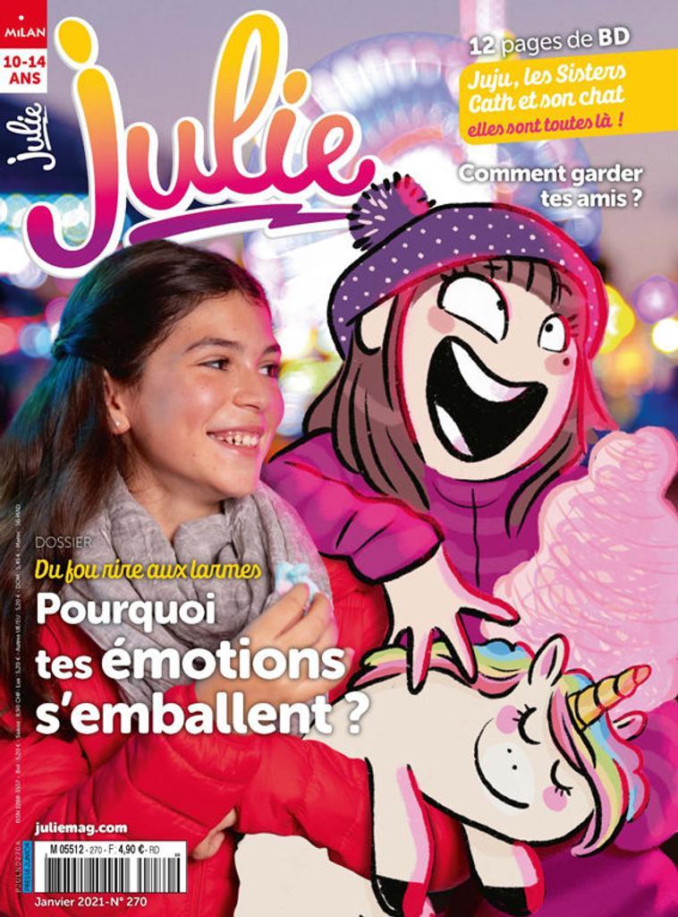 Julie : vive les filles : de 8 à 12 ans | Amen, Patrice. Metteur en scène ou réalisateur