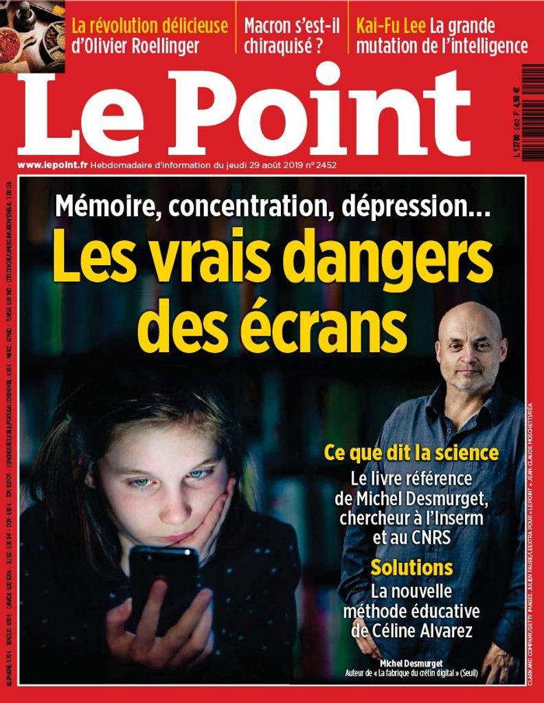 Le Point   Giesbert, Franz-Olivier (1949-....). Directeur de publication