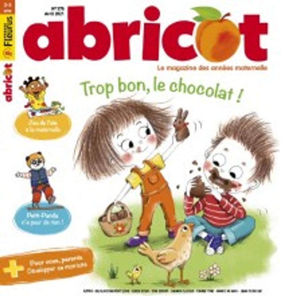 Abricot : de 3 à 5 ans | Lefranc, Jean-Martial. Directeur de publication