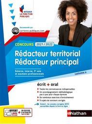Rédacteur territorial et rédacteur principal 2021-2022 : concours externe, interne et 3e voie, examens professionnels | Tuccinardi, Pascal. Auteur